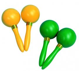 Set van 2 sambaballen, kunststof