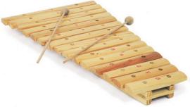 Xylofoon naturel 15 toons, Playwood