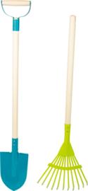 Tuingereedschapsset Duo, set van 2 , Small Foot