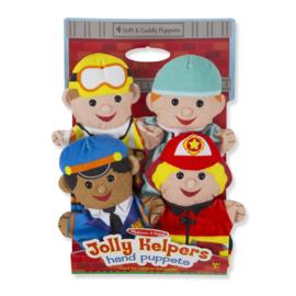 Handpoppen Jolly helpers, Melissa & Doug