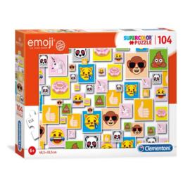 Puzzel Emoji 104 stukjes, Clementoni