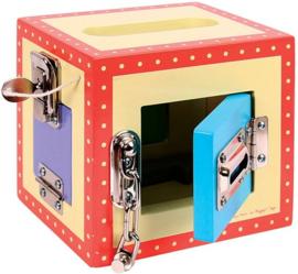 Houten sloten box, BigJigs