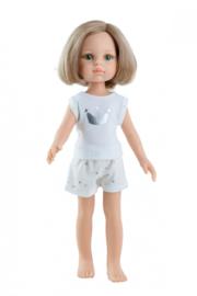 Amigas staande pop Pijamas Carla 32 cm, Paola Reina