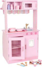 Houten kinderkeuken Janina roze, Small Foot