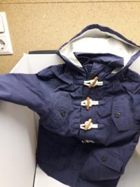 La Redoute donkerblauwe jas, maat 110