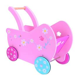 Roze Poppenwagen Daisy, BigJigs
