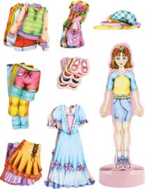 Magneet aankleedpop Magda, Small Foot