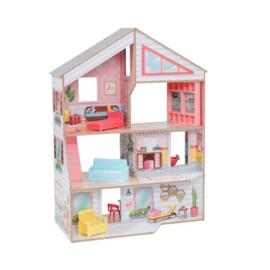 Voordelig poppenhuis Charlie met meubeltjes, Kidkraft