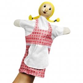 Poppenkast handpop Meisje of Grietje, goki