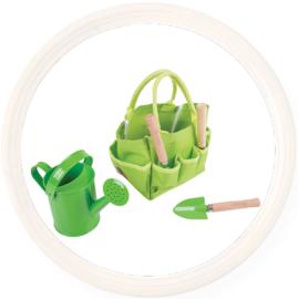 Tuingereedschap in tas voor kinderen, Bigjigs
