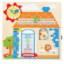 Kalender jaargetijden Huis