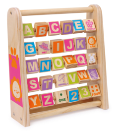Small Foot Leer het Alfabet, Leer Engels