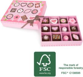 Houten FSC®  speelgoed BonBons in dooosje, Small Foot