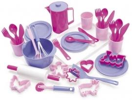 Dantoy bakservies roze Prinses / Retourdeal