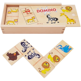 Domino Jungle en safari, wilde dieren