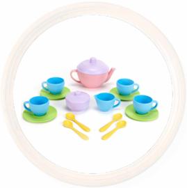 Thee set, roze , eco kunststof, Green Toys