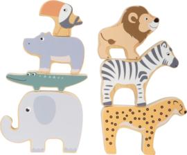 Houten dieren safari