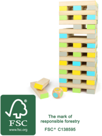 """Houten speelgoed toren """"Active"""" XXL van FSC® hout, Small Foot"""