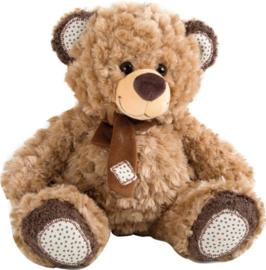 Teddybeer van pluche met sjaal 27 cm, Small Foot