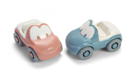 Tiny BIO plastic auto, set van 2 , Dantoy