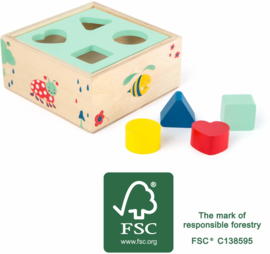 Houten vormenstoof Movere, FSC® ,Small Foot