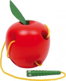 Rijg appel, motoriek oefenen, Small Foot