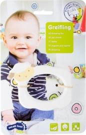 Houten bijtring Schaap, baby speelgoed, Small Foot