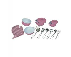 Speelgoed Pannenset roze