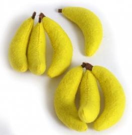Bananen van vilt