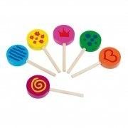 Speelgoed houten Lollies
