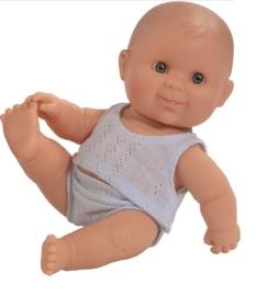 Paola Reina Puppegie jongen blank