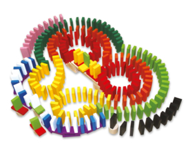 Houten domino rally Maxi, Small Foot