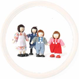 Tidlo, Poppenhuis poppetjes boeren familie