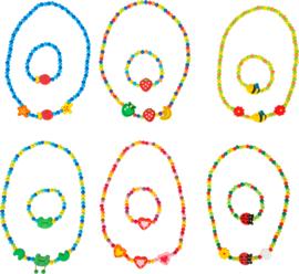 Ketting en armbandje, Small Foot; diverse sets leverbaar