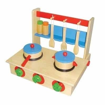 Houten speelgoed Keuken inklapbaar