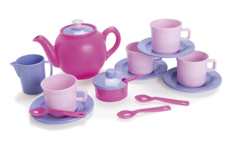 Dantoy theeservies roze pastel ( voorheen Prinses )