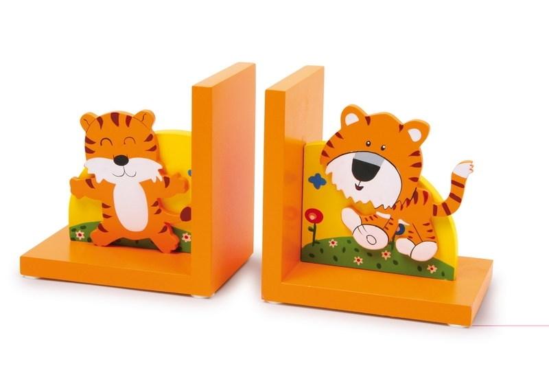 Boekensteunen vrolijke Tijgertjes oranje
