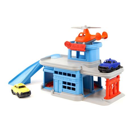 Garage van gerecyclede materialen, Green Toys