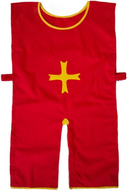 Ridder verkleedkleding - hesje - tuniek