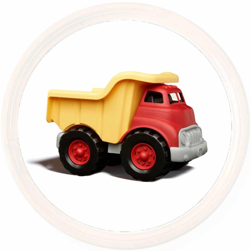 Green Toys dumptruck Geel/Rood