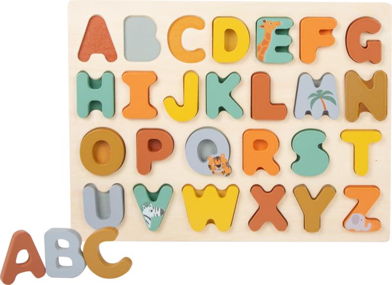 Houten puzzel ABC Safari
