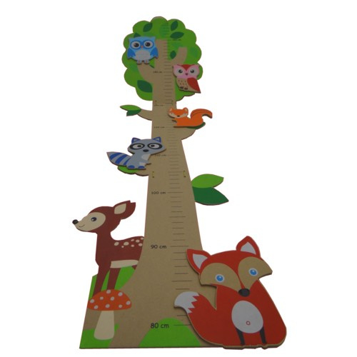 "Meetlat / groeimeter "" Het Bos "", simply for kids"