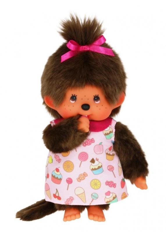 Monchhichi meisje Candy jurk (20 cm)