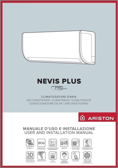 Handleiding Ariston Nevis Plus airco