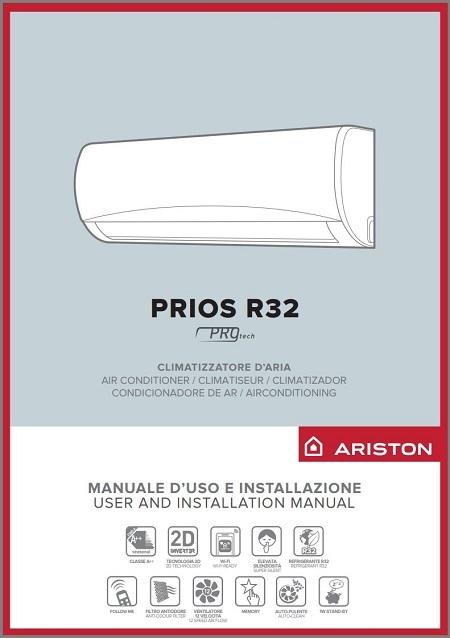 Handleiding Ariston Prios Plus airco