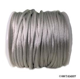 Nylon draad Lichtgrijs  2.5mm