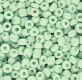 Rocailles 3mm Mintgroen