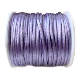Nylon draad saffier violet 2.5mm