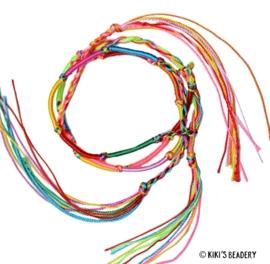 Ibiza bracelets festival 3 stuks