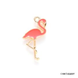 Metalen Flamingo emaille bedel